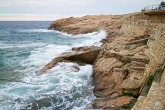 Costa Brava 021 Fotografia Royalty Free
