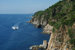 Costa Brava Stockbild