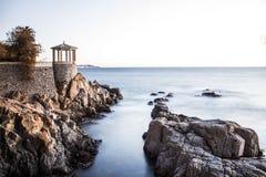 Costa Brava royaltyfria bilder