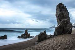 Costa Brava royaltyfri foto