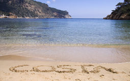 Costa brava beach Royalty Free Stock Image