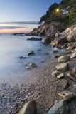 Costa Brava beach Stock Image