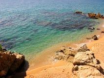 Costa Brava beach stock photos