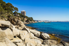 Costa Brava beach Stock Images
