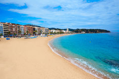 Costa Brava beach Lloret de Mar Catalonia Spain Royalty Free Stock Photos