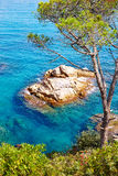 Costa Brava beach Lloret de Mar Catalonia Spain Royalty Free Stock Image