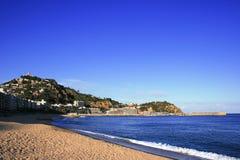 costa brava blanes Hiszpanii Fotografia Stock