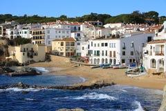 costa brava Calella de Palafrugell Hiszpanii Obraz Royalty Free