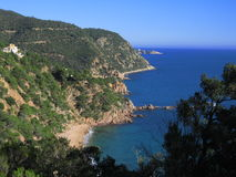 Costa Brava Catalogna Fotografie Stock
