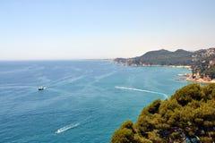 Costa Brava, Catalogna, Spagna Fotografia Stock Libera da Diritti