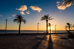 Costa Brava, Catalonia, Espanha Foto de Stock Royalty Free
