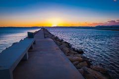 Costa Brava, Catalonia, Espanha Imagem de Stock