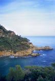 Costa Brava Cliffs Stock Image