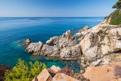 Costa brava coast Stock Photos