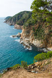 Costa Brava coastline Royalty Free Stock Photography
