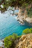 Costa Brava coastline Stock Photos