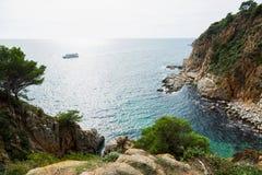 Costa Brava coastline Stock Photography