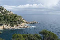 Costa Brava em Girona Foto de Stock
