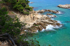 Costa Brava (España) Fotos de archivo