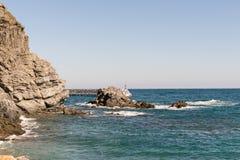 Costa Brava, Girona - (Hiszpania) obraz stock