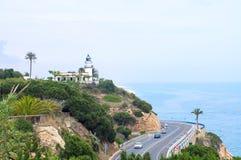 Costa Brava. Hiszpania Zdjęcia Stock