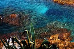 Costa Brava Hiszpania Fotografia Royalty Free
