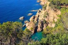 costa brava Hiszpanii Obrazy Stock