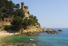 Costa Brava, Katalonien, Spanien lizenzfreie stockfotografie