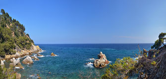 Costa Brava landscape Royalty Free Stock Images