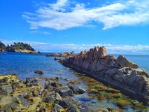 Costa Brava landscape Royalty Free Stock Images