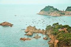 Costa Brava Royalty Free Stock Photography