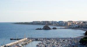 Costa Brava Landschaft Lizenzfreie Stockbilder