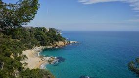 Costa Brava Lloret de Mar lizenzfreie stockfotos