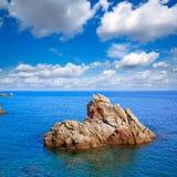 Costa Brava Lloret de Mar beach Camins de Ronda Royalty Free Stock Photo