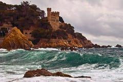 Costa Brava,Lloret de mar Stock Images