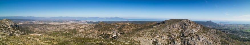 Costa Brava panorama fotografia royalty free