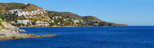 Costa Brava panorama in Spain Royalty Free Stock Photo