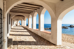 Costa Brava pathway Royalty Free Stock Photography