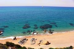 Costa Brava Śródziemnomorski sen Zdjęcie Stock