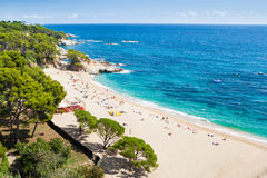 Costa Brava seaside Royalty Free Stock Photos