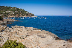 Costa Brava seaside Royalty Free Stock Photo