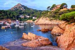 Costa Brava, Spagna Fotografie Stock Libere da Diritti