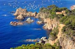 Costa Brava (Spanje) Stock Afbeeldingen