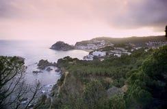 Costa Brava Sunset Stock Image