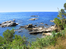 Costa Brava Viewpoint  Stock Image