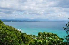 Costa, Byron Bay, NSW, Austrália imagem de stock