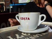 Costa caffe stock foto's