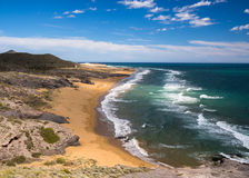 Costa Calida Beach in Spain Royalty Free Stock Images