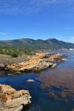Costa californiana Imagenes de archivo
