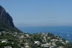 The cost of Capri Royalty Free Stock Image